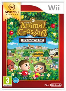 Nintendo Selects Animal Crossing  Lets Go To The City on Nintendo Wii