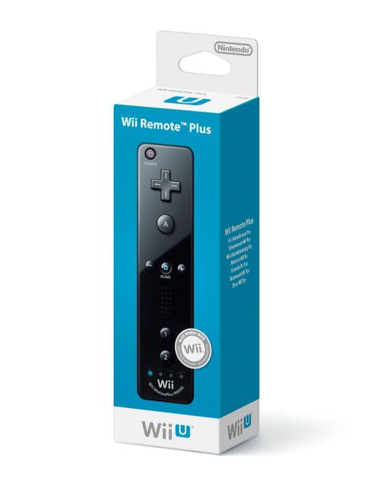 Official Nintendo Wii U Remote PLUS (Black) on Nintendo Wii U
