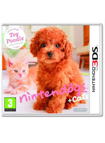 Nintendogs and Cats 3D  Poodle on Nintendo 3DS