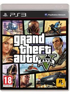 Grand Theft Auto V (GTA 5) on PS3