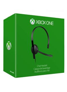 Xbox One Official Chat Headset on Xbox One