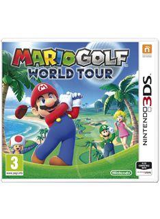 Mario Golf World Tour on Nintendo 3DS