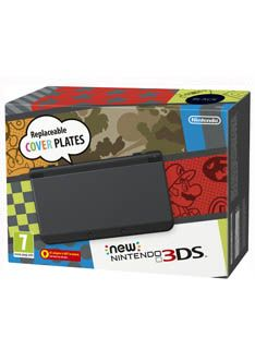 The New Nintendo 3DS Console  Black on Nintendo 3DS