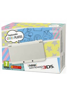 The New Nintendo 3DS Console  White on Nintendo 3DS