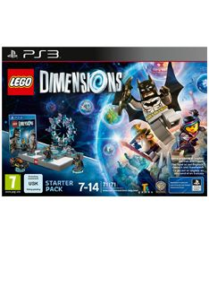 Lego Dimensions Starter Pack on PS3