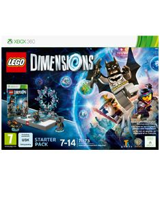 Lego Dimensions Starter Pack on Xbox 360