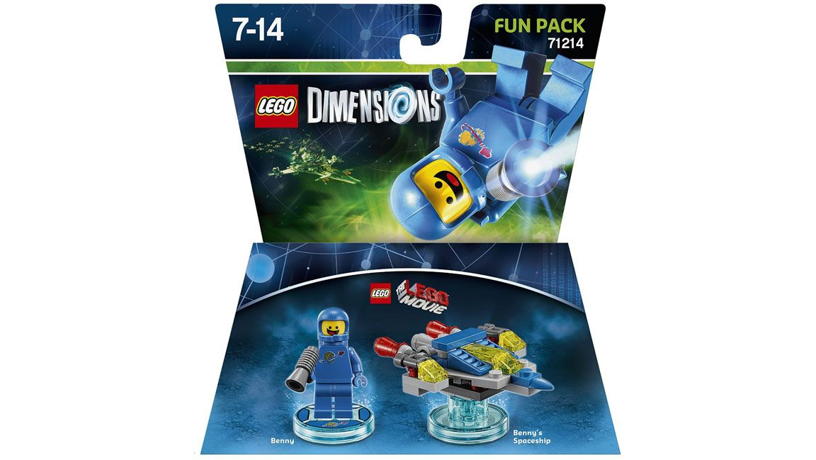 Lego Dimensions The Lego Movie Fun Pack - Benny on PS4   SimplyGames