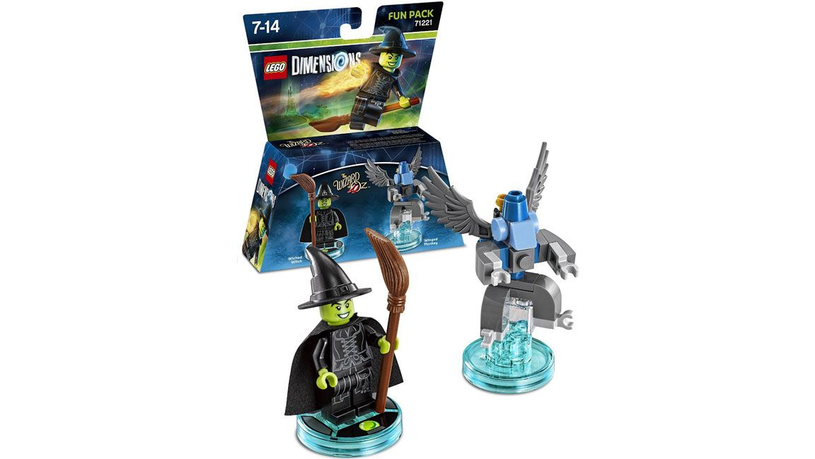 lego dimensions the wizard of oz fun pack the wicked. Black Bedroom Furniture Sets. Home Design Ideas