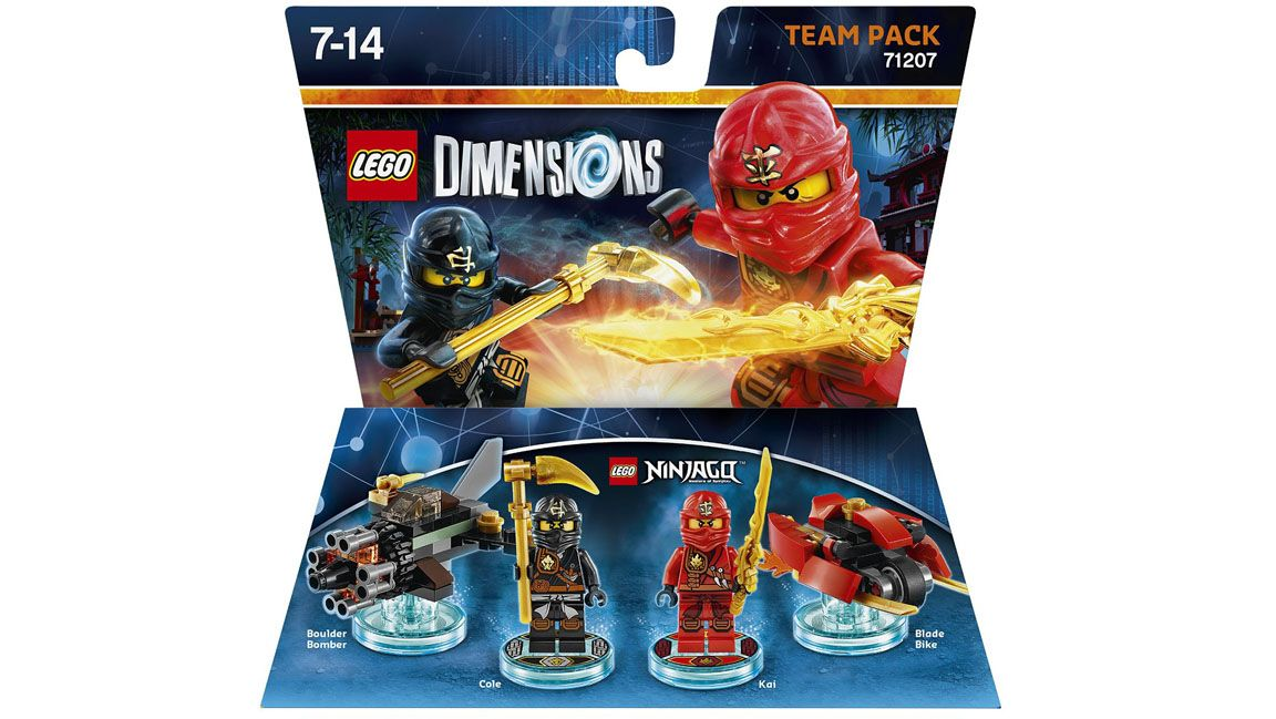 lego dimensions team pack ninjago on ps4 simplygames. Black Bedroom Furniture Sets. Home Design Ideas