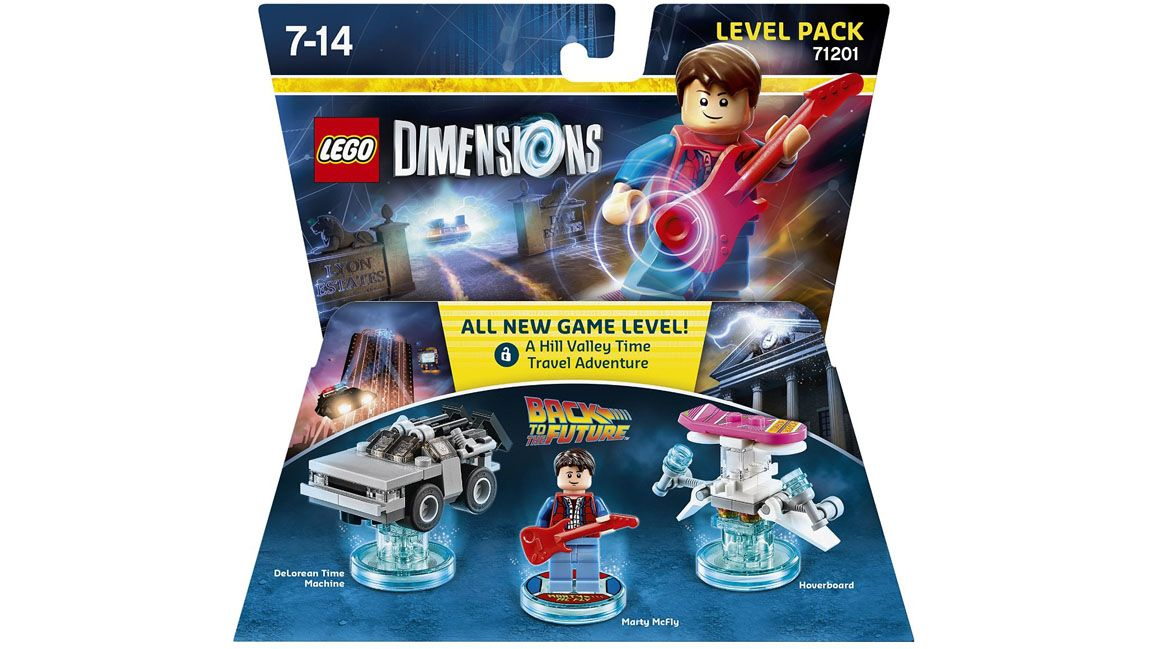 lego dimensions level pack back to the future on ps4. Black Bedroom Furniture Sets. Home Design Ideas
