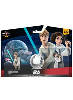Disney Infinity 3.0 Star Wars Rise Against the Empire Playset (Luke  Leia and Playset piece)  on PS4