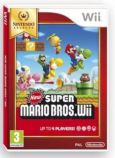 Nintendo Selects New Super Mario Bros. on Nintendo Wii