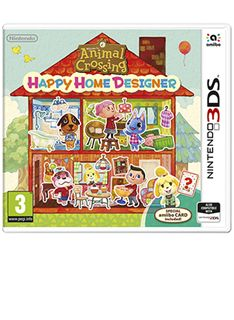 Animal Crossing Happy Home Crossing and Card on Nintendo 3DS