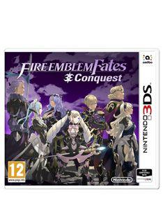 Video Games Fire Emblem Fates: Conquest on Nintendo 3DS