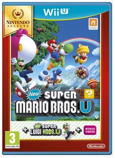 Nintendo Selects New Super Mario Bros U  New Super Luigi U on Nintendo Wii U