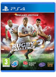 Video Games Rugby Challenge 3 on PS4