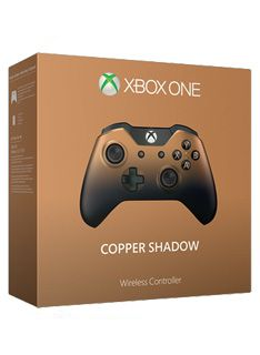 Xbox One Official Wireless Controller  Copper Shadow on Xbox One