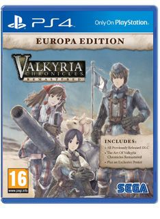 Valkyria Chronicles Remastered Europa Edition on PS4