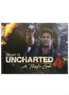 Uncharted 4 A Thiefâ??s End 48Page Artbook (Hardcover) on PS4