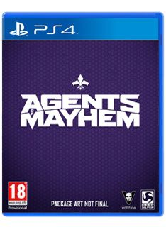 Video Games Agents of Mayhem on PS4