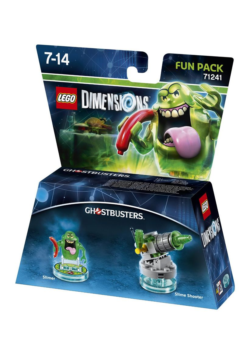 lego dimensions ghostbusters slimer fun pack on ps4. Black Bedroom Furniture Sets. Home Design Ideas