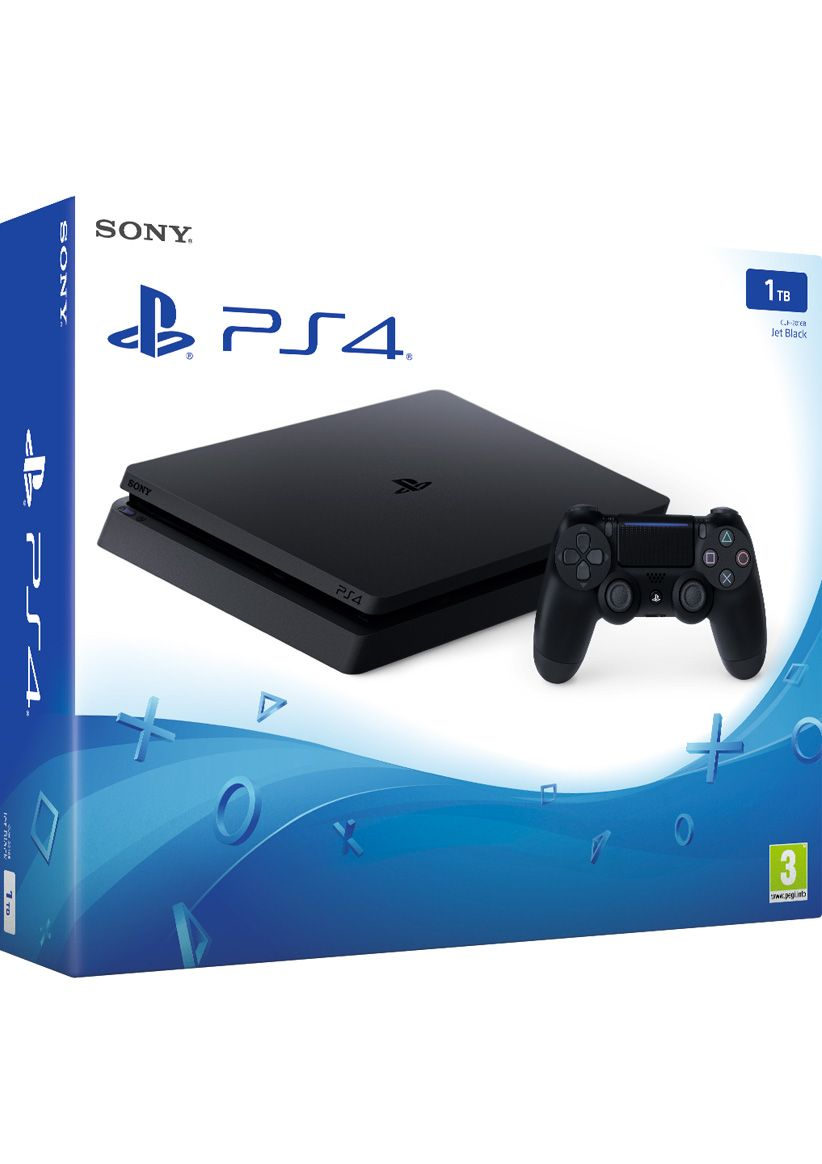 ps4 slim 1tb console on ps4 simplygames. Black Bedroom Furniture Sets. Home Design Ideas