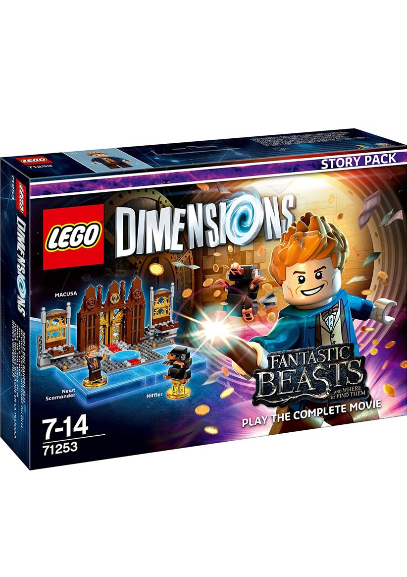 lego dimensions fantastic beasts story pack on ps4. Black Bedroom Furniture Sets. Home Design Ideas