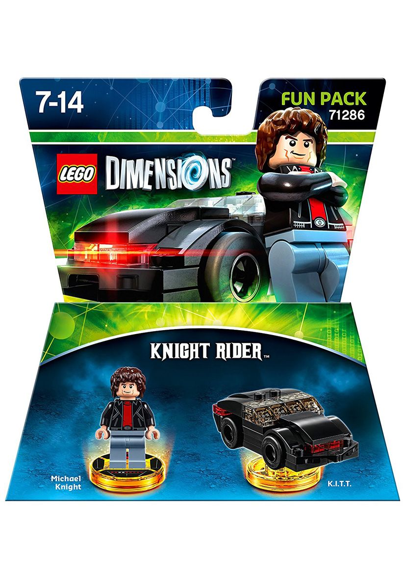 lego dimensions knight rider fun pack on ps4 simplygames. Black Bedroom Furniture Sets. Home Design Ideas