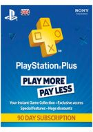 Sony Playstation Plus 90 Day Subscription (UK Only)... on PS4