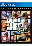 Grand Theft Auto V (GTA 5): Premium Edition... on PS4