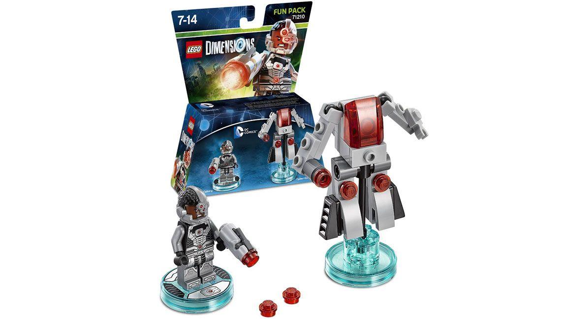 lego dimensions dc comics fun pack cyborg on ps4. Black Bedroom Furniture Sets. Home Design Ideas
