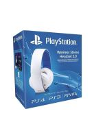 Sony PlayStation White Wireless Stereo Headset 2.0... on PS4