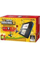 2DS Black and Blue with New Super Mario 2... on Nintendo 2DS