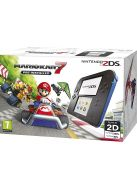 2DS Black and Blue with Mario Kart 7... on Nintendo 2DS