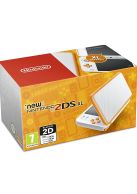 New Nintendo 2DS XL Console - White & Orange... on Nintendo 2DS