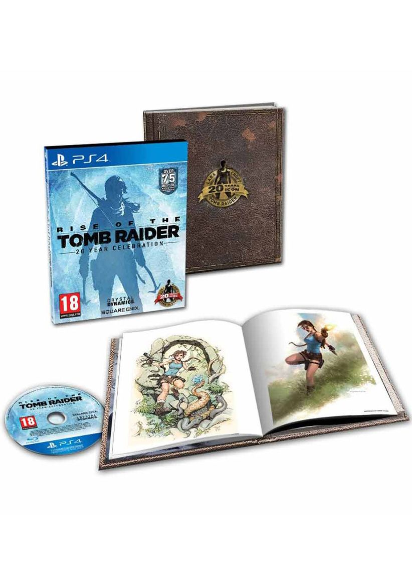 Rise Of The Tomb Raider 20 Year Celebration Artbook Edition On Ps4