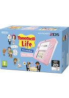 2DS Pink and White with Tomodachi Life... on Nintendo 2DS