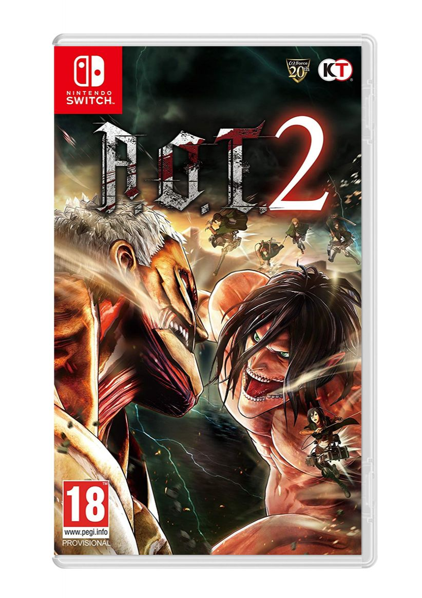 A.O.T 2 (Attack on Titan) on Nintendo Switch   SimplyGames