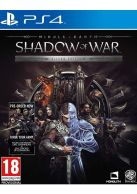 Middle Earth Shadow Of War: Silver Edition Inc Steelbook... on PS4
