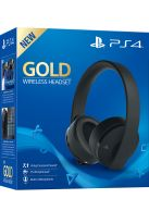 Playstation 4 Gold Wireless Headset... on PS4