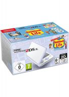 New Nintendo 2DS XL White and Lavender Inc Pre-Installed Tom... on Nintendo 2DS