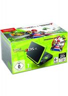 New Nintendo 2DS XL Black and Lime Green Inc Pre-Installed M... on Nintendo 2DS
