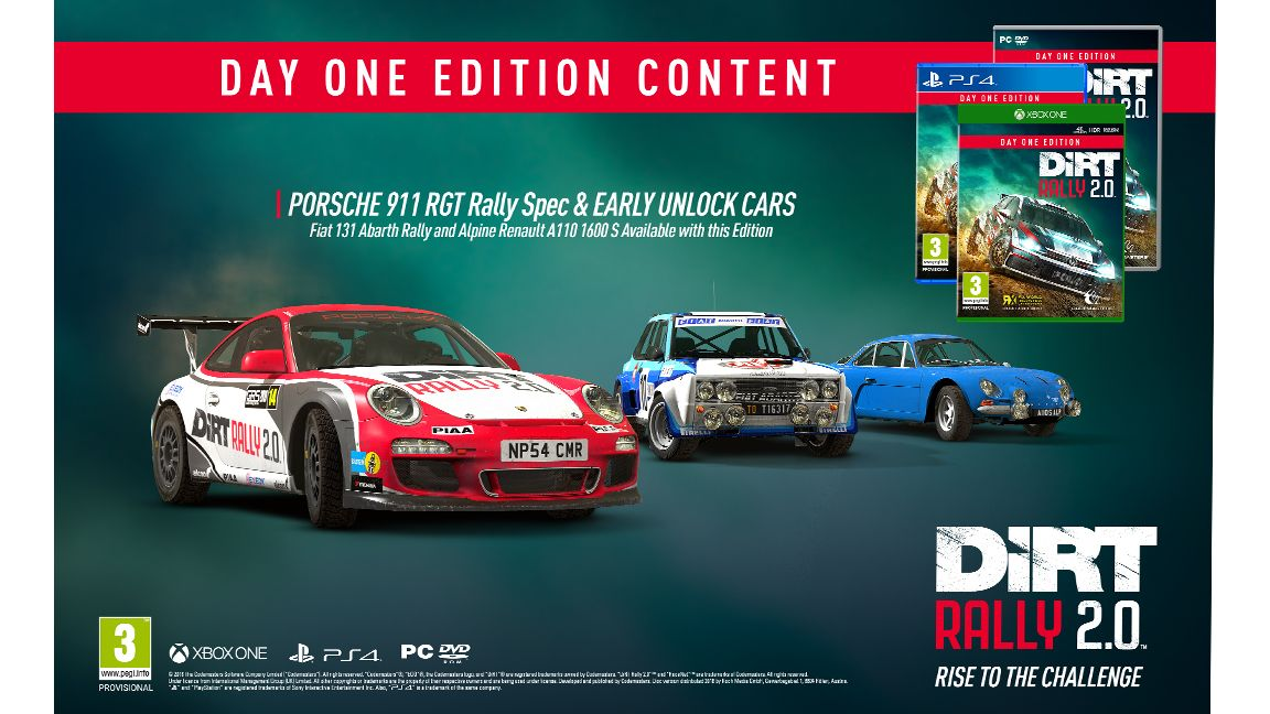 Dirt Rally 2 0 Day One Edition On Ps4 Simplygames