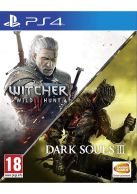 The Witcher 3 Wild Hunt + Dark Souls 3 Two Game Compilation... on PS4