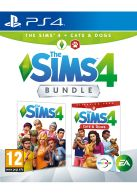 The Sims 4 Plus Cats and Dogs Bundle... on PS4