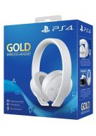 Playstation 4 Gold Wireless Headset White... on PS4