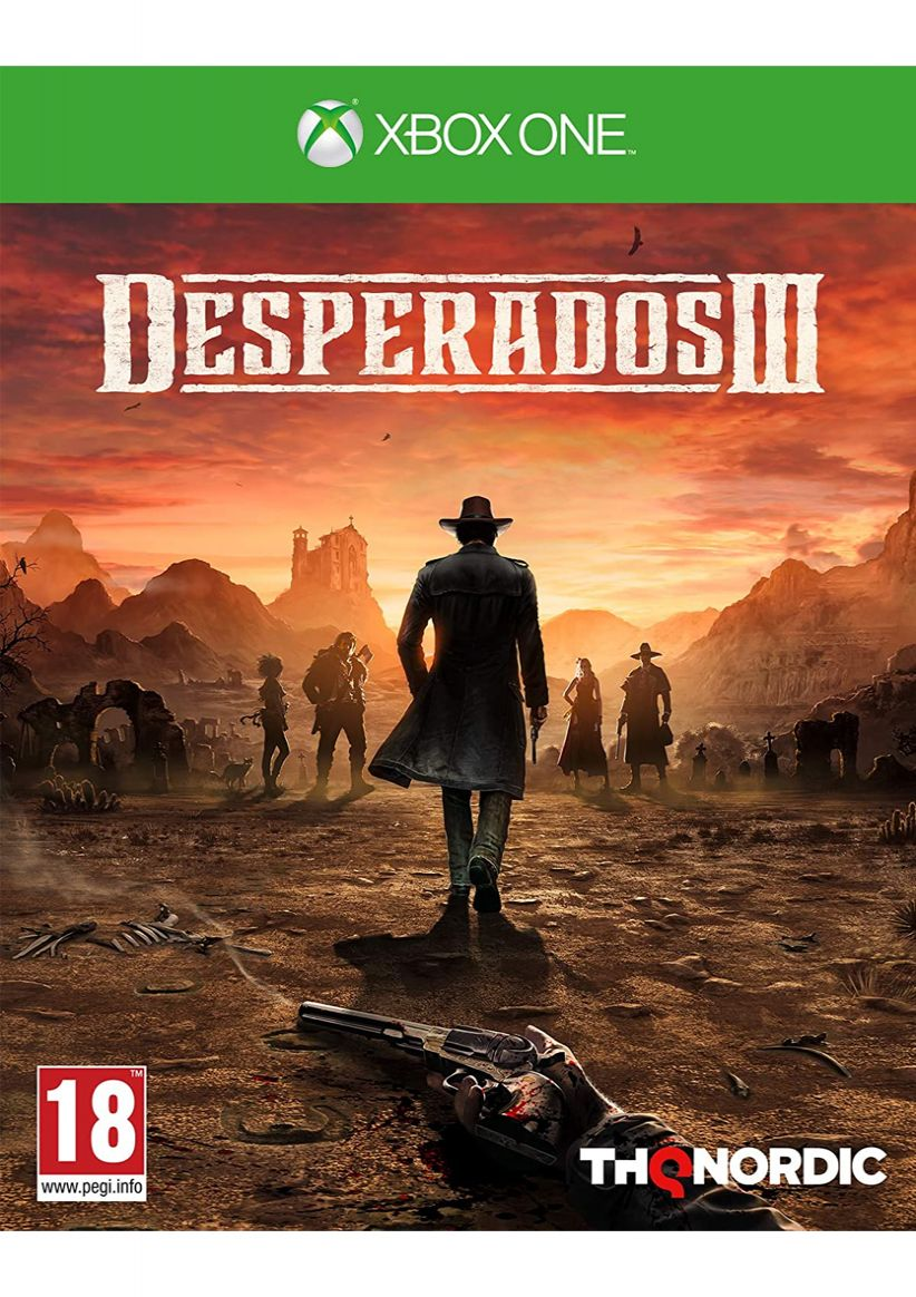 Desperados 3 On Xbox One Simplygames