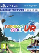 Everybody's Golf  VR... on PS4