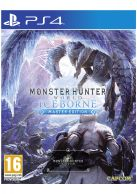 Monster Hunter World: Iceborne Master Edition + Steelbook... on PS4