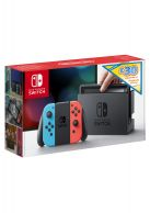 Limited Edition Neon Red/Blue Nintendo Switch Bundle with £... on Nintendo Switch